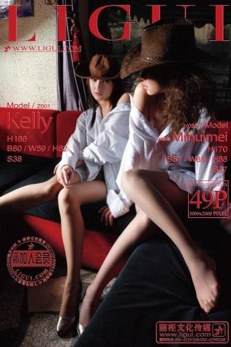 Ligui - 2012-07-28 - Models - Kelly & MiHuimei 咪惠美 (49) 2000X3000