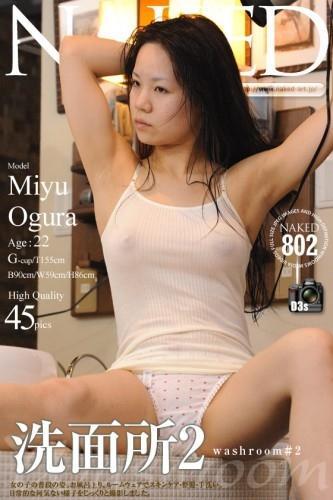 Naked-Art - 2016-02-17 - NO.00802 - Miyu Ogura 小倉美優 - Washroom #2 洗面所2 (45) 2832X4256