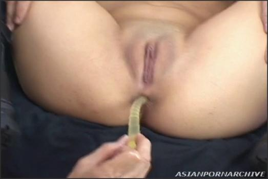 Alljapanesepass.com- Awesome Shaved Pussy Anal Toys Lesson Video Online