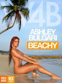 W4B - 2011-06-10 - Ashley Bulgari - Beachy (93) 3328X4992 & Backstage Video