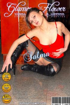 GlamourFlower - 2008-02-01 - Salma - Salma in black stockings (98) 2592X3872