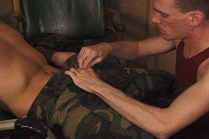 Awesomeinterracial.com- Army Gays Have Hot Storeroom Fucking