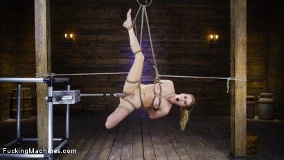 Kink.com- Cadence Lux: Suspension Bondage Sybian and Squirting Orgasms