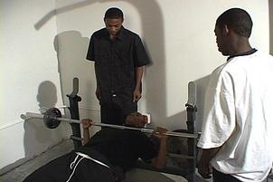 Awesomeinterracial.com- Young Athlete Seduced By Two Hung Studs