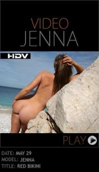 PD - 2010-05-29 - Jenna Jones - Red Bikini (Video) HD WMV 1280X720
