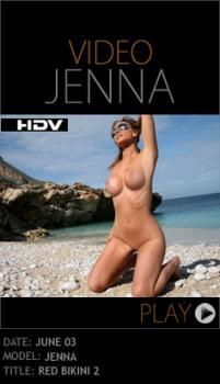 PD - 2010-06-03 - Jenna Jones - Red Bikini 2 (Video) HD WMV 1280X720