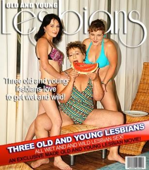 Mature.nl- Kateryna (25) Mabella (53) Nikoliena (37) - Three old and young lesbians getting wet
