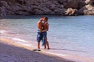 Awesomeinterracial.com- Eager Gay Lads Have Oral Fuck On Beach