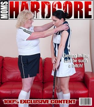 Mature.nl- Claire Knight (EU) (55) Jasmine W. (23) - Naughty mom doing her horny pupil