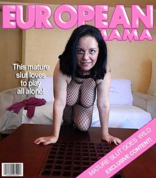 Mature.nl- Denisse (EU) (42) - Big breasted housewife playing with herself