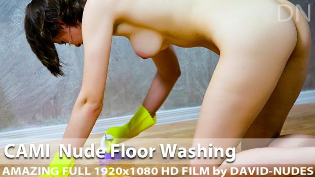 D-N - 2013-03-05 - Cami - Nude Floor Washing (Video) Full HD WMV 1920X1080