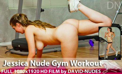 D-N - 2012-01-11 - Jessica - Nude Gym Workout (Video) Full HD WMV 1920X1080