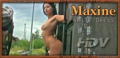 RD - 2009-03-10 - Maxine - White dress (Video) HD DivX 1280X720