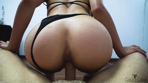 Fit Teen Slut Rides Your Cock Reverse Cowgirl For Delicious Creampie - POV   Coco Calea