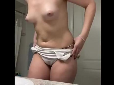 Hidden-Zone.com- Thicc Cute Gal Showers Again