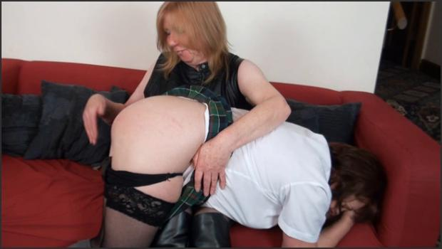 Fetish porn- A Good Spanking